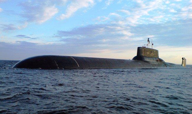 Российская АПЛ ТК-208 «Дмитрий Донской» направляется в Сирию