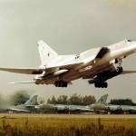 Российские бомбардировщики Ту-22М3 подняты в воздух