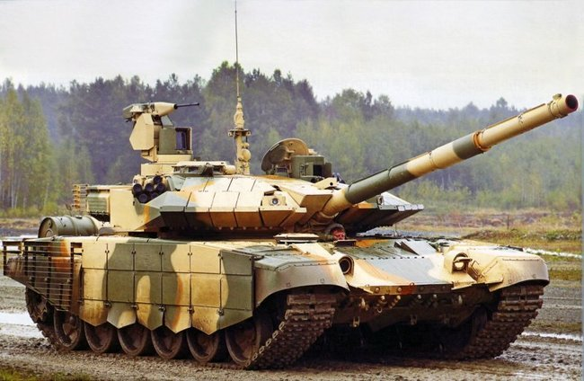 Индия готова закупить партию танков Т-90МС