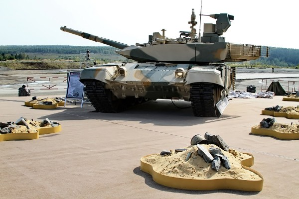 Экспортный Т-90 прошел испытания в пустыне