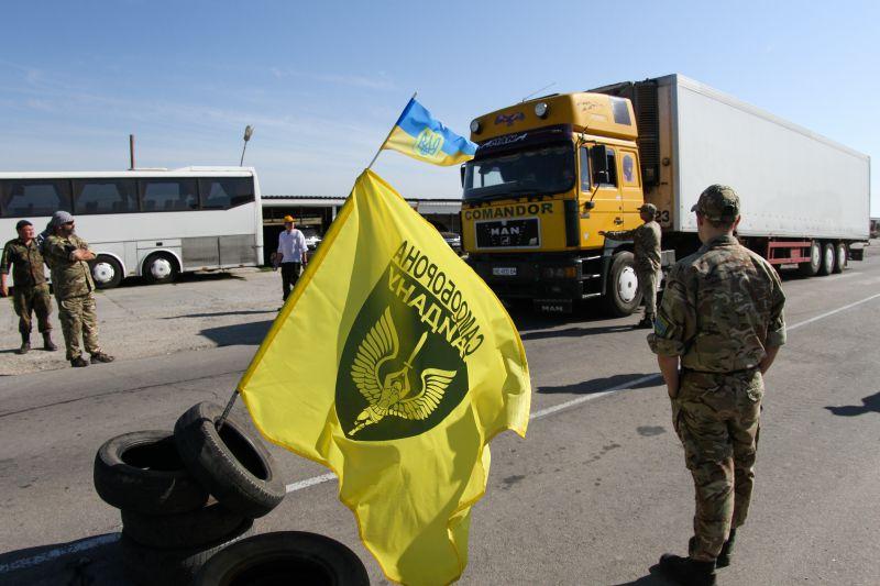 Украина частично изменила правила въезда в Крым