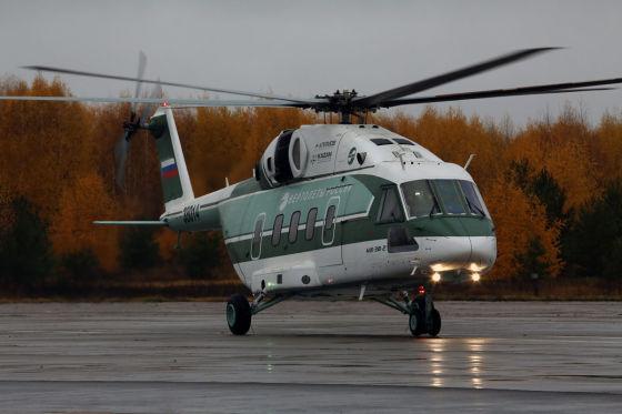 Фюзеляж первого серийного вертолета Ми-38 изготовлен в Казани