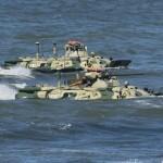 Четыре БТР армии Казахстана затонули во время учений Центр-2015