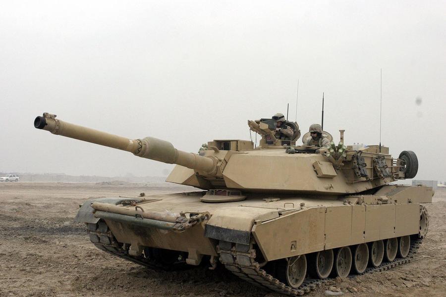 американский Abrams M1A2 SEP