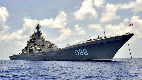 Атомный крейсер «Адмирал Нахимов»