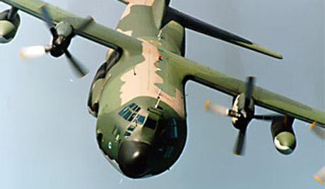 В Афганистане разбился американский военно-транспортный самолет C-130 Hercules