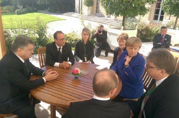 В Париже стартовала встреча нормандской четвёрки