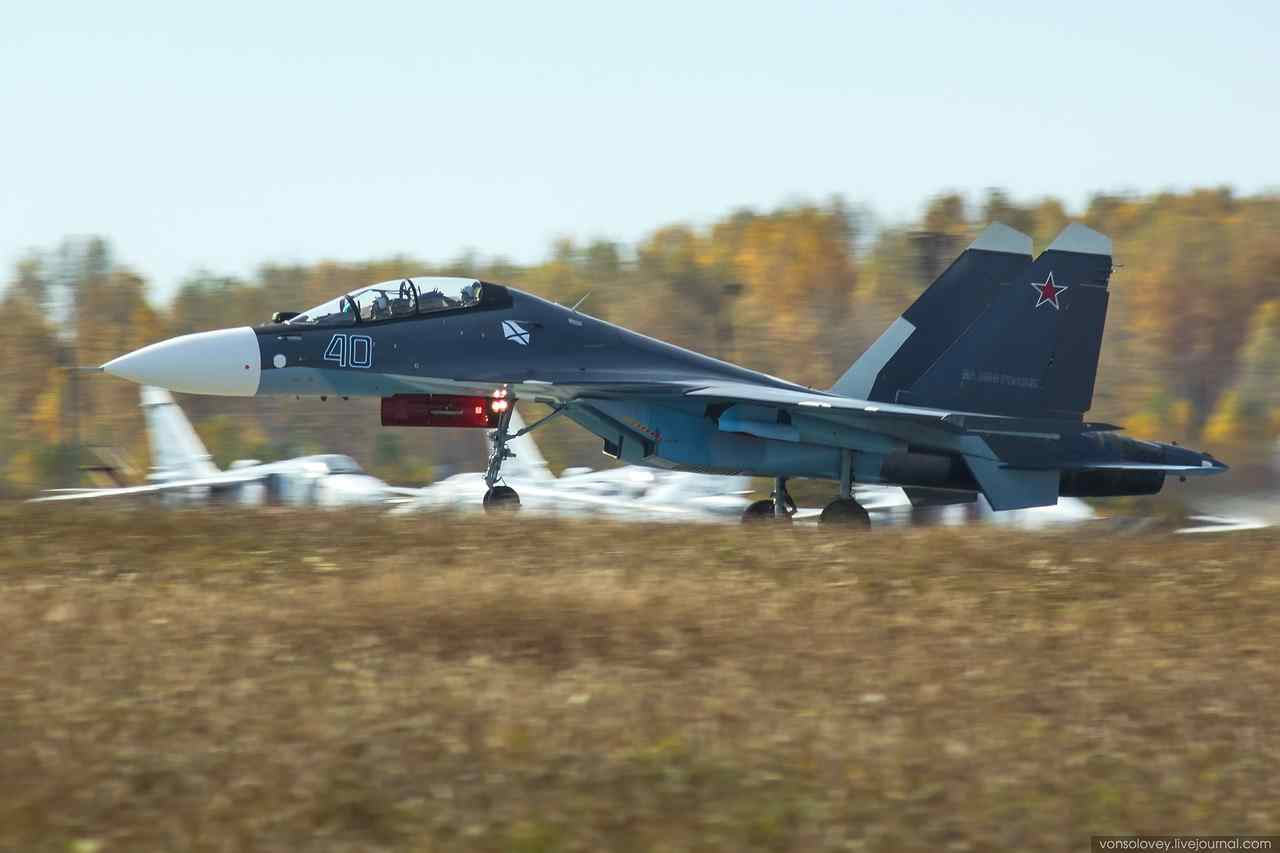 Еще три морских Су-30СМ отправились в Саки