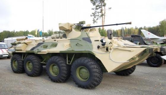 Образцы современного вооружения ЮВО покажут на выставке в Ростове