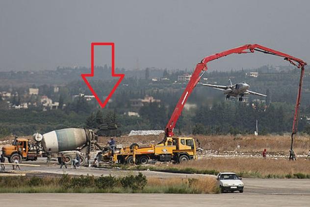 Авиабазу в Сирии охраняет Панцирь-С1