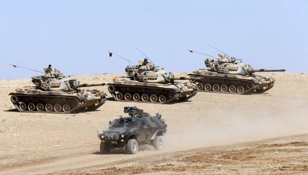 Танковая бригада Турции начала наступление в сирийской провинции Идлиб