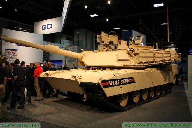 Танк Abrams M1A2 SEP v.3