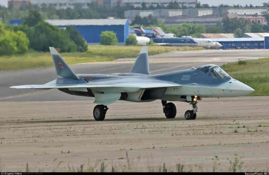 Возобновление испытаний самолета Т-50-5