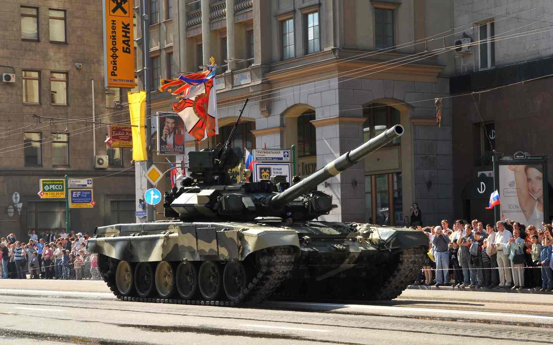 Т-90 на параде