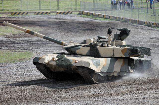 «Уралвагонзавод» сделает робота из танка Т-90