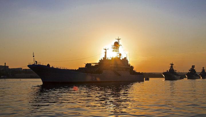 Черноморский флот проводит учения отражения воздушных налетов на Крым
