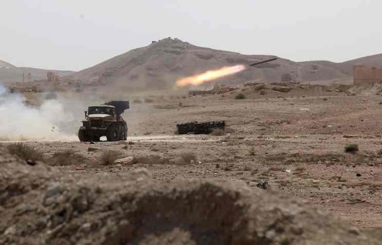 Сирийские войска преследуют бандформирования