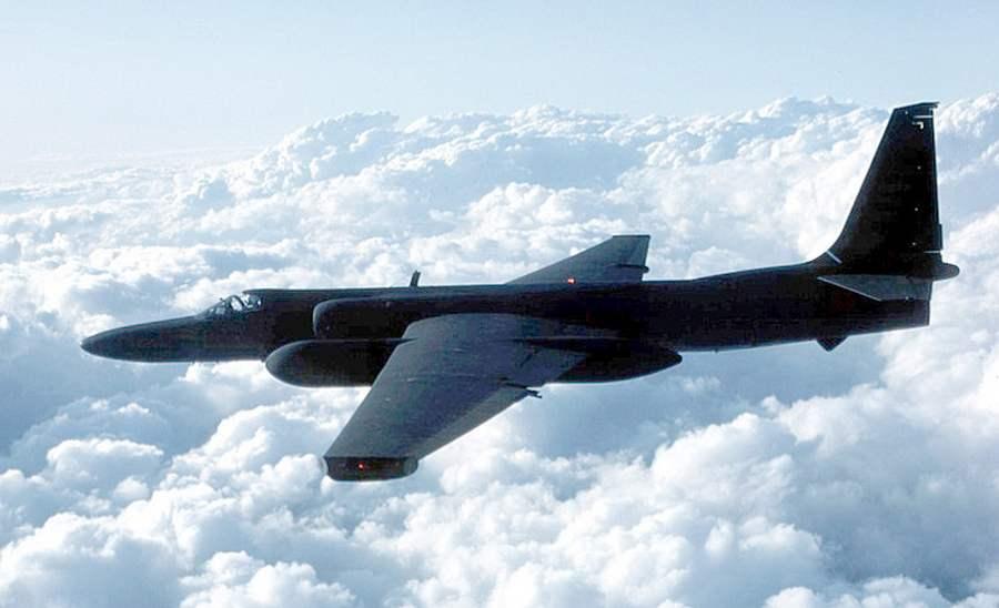 Разведывательный самолет ВВС США U-2 над Сирией