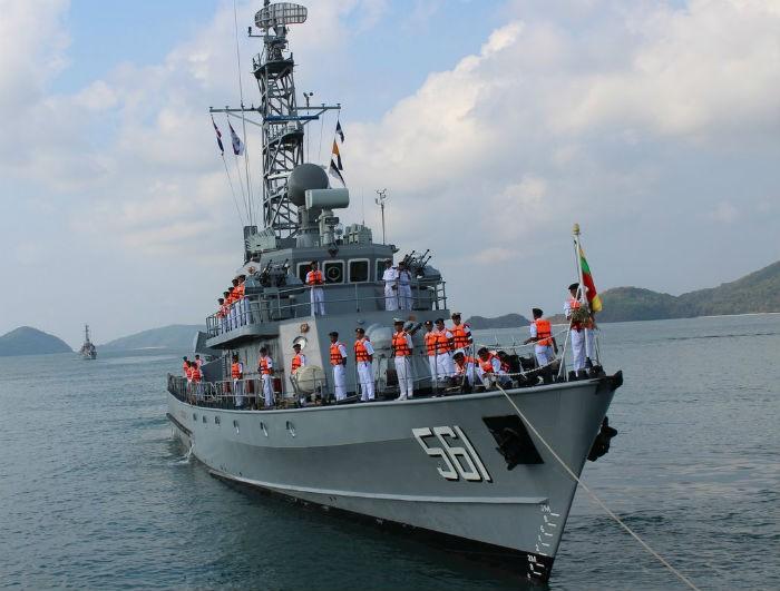 Мьянма предоставит порты для российского ВМФ