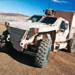 Автомобиль JLTV, созданный фирмами Northrop Grumman и Oshkosh Truck