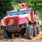 Бронированная колёсная машинаTITUS фирмы Nexter Systems
