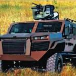Бронированная машина Ejder 4x4 «Дракон»