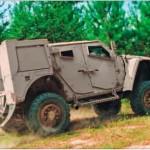 Вариант бронированного автомобиля LATV