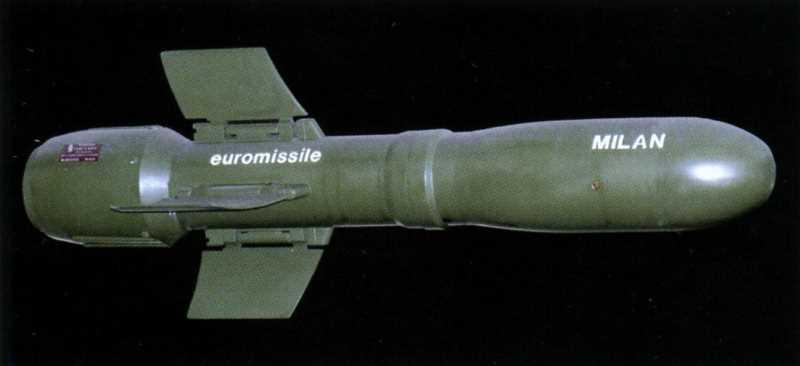 Легкая пехотная противотанковая управляемая ракета ПТРК «Милан»