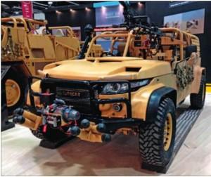 Лёгкий разведывательный автомобиль Supacat LRV 400