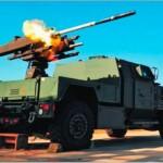Самоходный ЗРК ближнего действия на шасси автомобиля JLTV фирмы Lockheed Martin