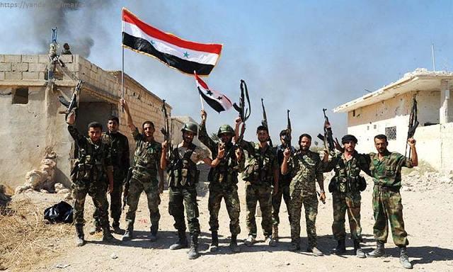Сирийская армия ударила по террористам в Дераа и Дейр-эз-Зоре