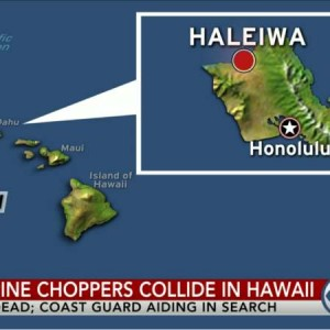Military Helicopter Accident Off Hawaii