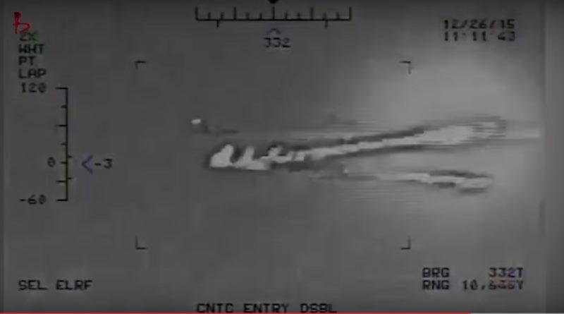 ВМС США опубликовали видео учебной стрельбы Ирана вблизи от американского авианосца
