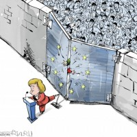 Ангела Меркель и ее отношение к беженцам