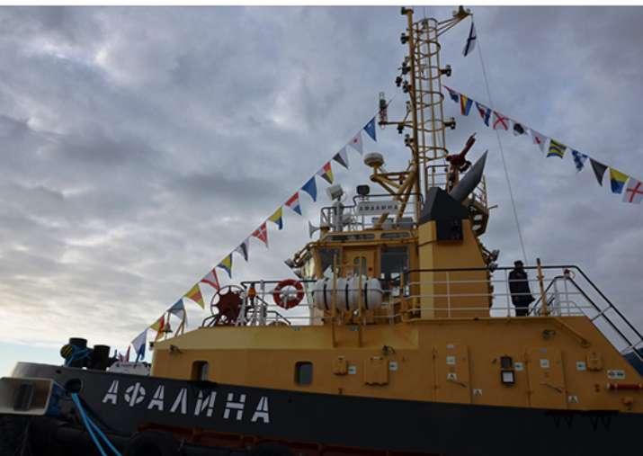 Афалина пополнил состав ВМФ России