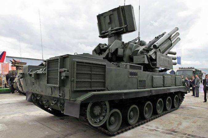 Военные получили более современный ЗРПК Панцирь-С2