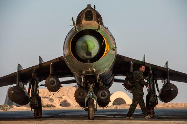 МиГ-23 - любимый самолет Асада