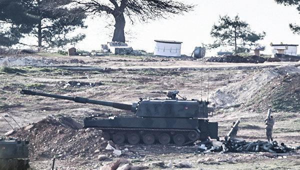 Турция не нарушит границу Сирии, только артобстрелами