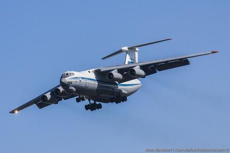 Любимый многими летчиками самолет Ил-76