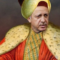 Османский султан Реджеп Эрдоган проигрывает войну