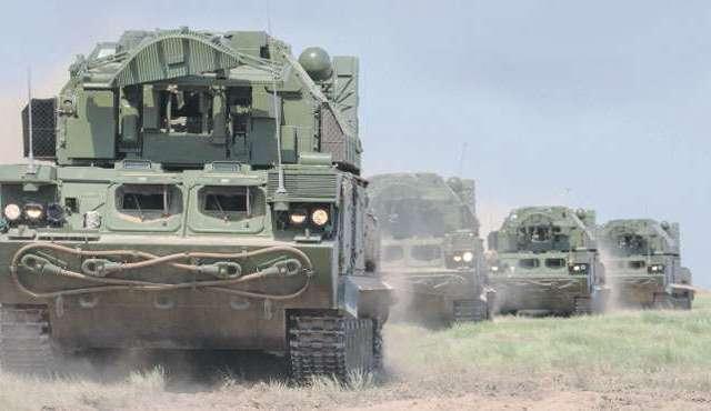 VIP-цели войсковой ПВО отмечены к празднику.