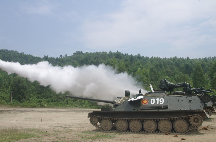 Вьетнамская армия вернула артиллерийские установки АСУ-85