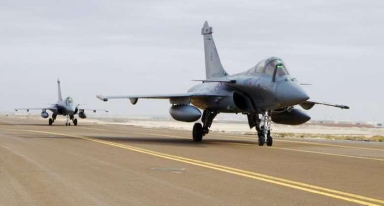 ВВС Франции могут задействовать в зарубежных конфликтах лишь 20 боевых машин
