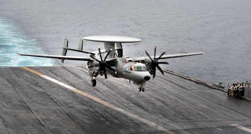 Восемь моряков пострадали на авианосце ВМС США «Dwight D Eisenhower» во время посадки самолёта