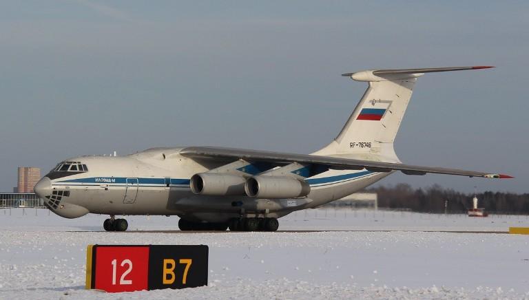 В Жуковском впервые взлетел военно-транспортный самолет Ил-76МД-М