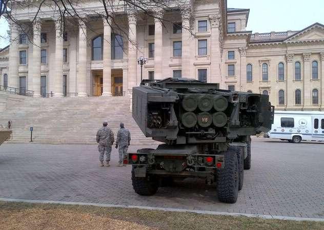 В США компьютер не дал провести испытания ракетно-артиллерийской системы HIMARS