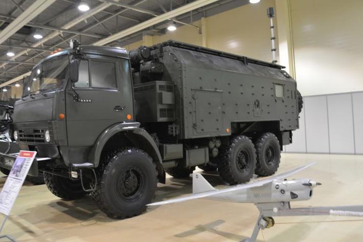 В Сирии обнаружили российские комплексы подавления мобильной связи «Леер-3»