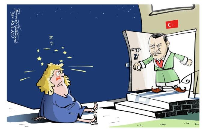 Евросоюз для Турции отменит визовые условия.
