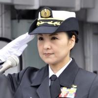 Женщина впервые стала командиром японского эсминца