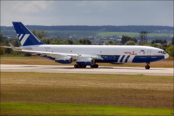 Самолет ВВС России Ил-96-400М.